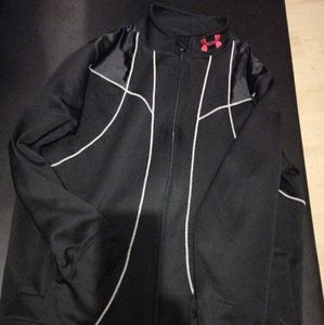 Sweater zip up under armour